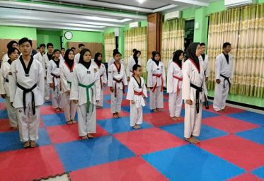 MAN 1 Jakarta Gelar Technical Workshop Taekwondo